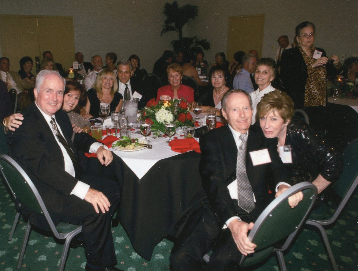 Cleveland High School Class of 61 50th Reunion DinnerNick Frost And Wife